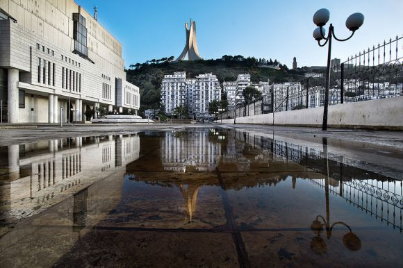 Monument of the Martyrs and National Library of Algeria ©https://creativecommons.org/licenses/by-sa/4.0/deed.en  - Henry Marion
