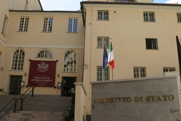 ©Archivio di Stato di Genova